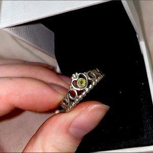Vintage Pandora Princess Ring